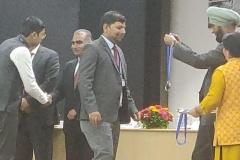 श्री प्रदीप कुमार द्विवेदी, अधिकारी प्रशिक्षु ने वाद-विवाद प्रतियोगिता में रजत पदक जीता। Sh. Pradeep Kumar Dwivedi, Officer Trainee, Silver Medal bagged in Debate Competition, 6th Inter Services Meet, at LBSNAA on 29th March, 2019