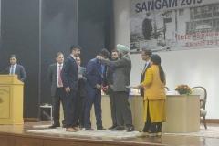 श्री अखिल बिहारी दास, अधिकारी प्रशिक्षु ने प्रश्नोत्तरी तथा मैनेजमेंट गेम्स में स्वर्ण पदक जीता। Sh. Akhil Bihari Das, Officer Trainee Gold Medal bagged in Quiz & Management Games in 6th Inter Services Meet, at LBSNAA on 29th March, 2019